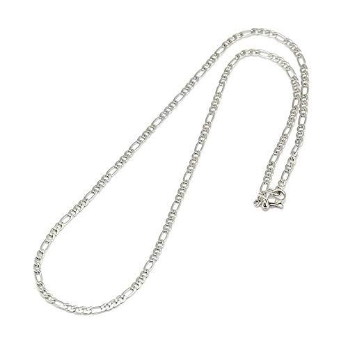 DanLingJewelry 10st 304 roestvrij stalen ketting Figaro ketting ketting met kreeft gesp voor sieraden maken 17in