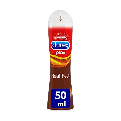 Durex Real Feel Gel lubrificante, 50 ml