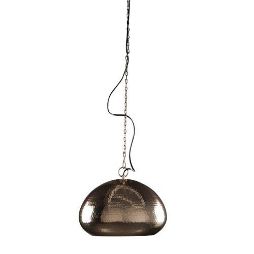 Zuiver 5300019Pendant Lamp, ovale, in ottone martellato