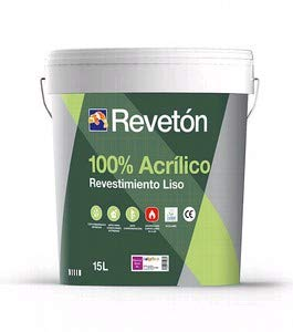 REVETON - REVETON LISO 100% ACRILICO 15 LT - Blanco 001