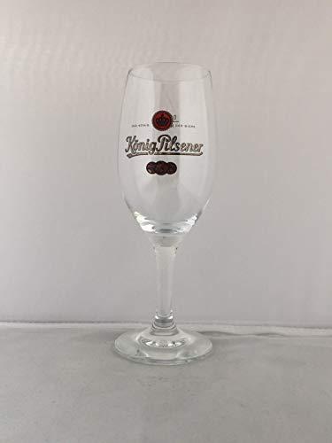 6 x König Pilsener Glas Gläser 0,2l Pokal Bierglas Gastro Bar Deko NEU