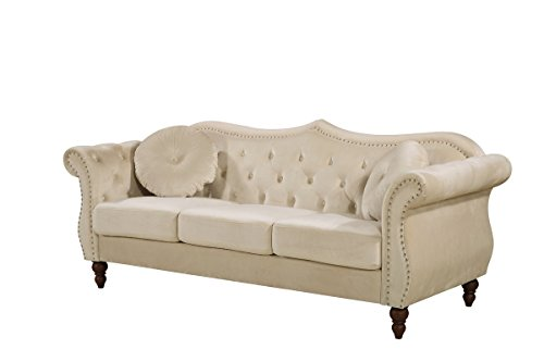 Ivory Couch - 9