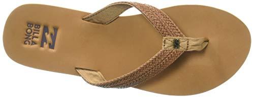 Billabong Women's Kai Flip Flop, Desert Daze, 9 Regular US