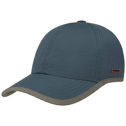 Stetson Kitlock Outdoor Baseballcap Damen/Herren - Sommercap Nylon wasserabweisend - Sonnencap mit UV-Schutz 40+ - Basecap mit Coolmax-Schweißband - Outdoorcap Frühjahr/Sommer blau M (56-57 cm)