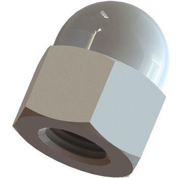 Kunststoff Hutmutter M10 DIN EN 34814 1587 10 Stück
