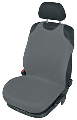 ZentimeX Z740703 Sitzbezug Einzelsitz T-Shirt-Design Baumwolle dunkel grau