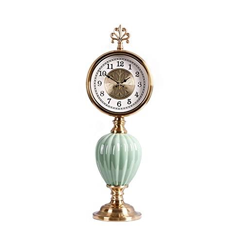 Relojes de Chimenea Inicio Reloj decoración MUJO Tabla DE Mujer Reloj DE LIBERTAS DE DORMACION DE DORMAJE DE DISCAPACIDAD DE DISCAPACIDAD DE LA Oficina DE DISCAPACIDAD 20.86 Pulgadas Reloj de Mesa