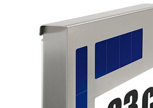 "esotec Solar Hausnummernleuchte ""Design"" 102037"