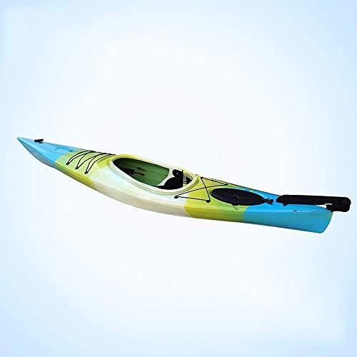 Kajak, 3,5 Meter Single-Kurzstrecken Ozean Boot, Reise Kanu, Sport Nomad 1 Person aufblasbares Kajak ZHANGKANG