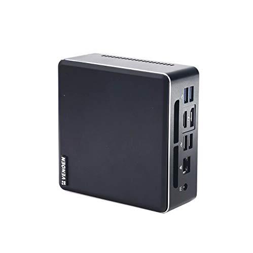 VENOEN AMD Quad Core Mini PC,Ryzen 5 3550H Desktop Computer Radeon Vega 8 Graphics,16G DDR4,512G M.2 SSD,HDMI 2.0,DP,Type-C,Lan,Dual Band Wifi,Bluetooth,Windows 10 Pro