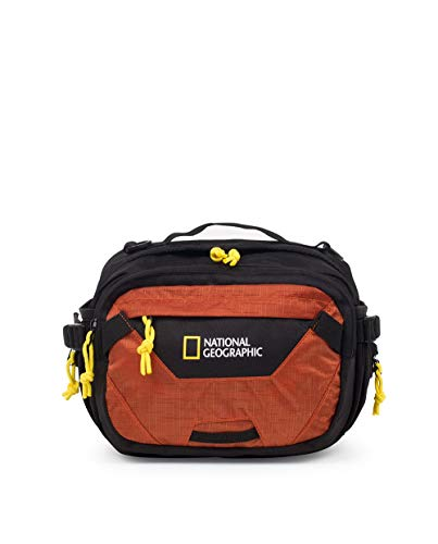National Geographic RIÑONERA Sac Banane Mixte, Orange (Orange), Taille Unique