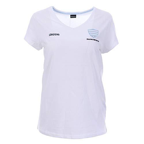 Kappa Racing 92 Rugby-T-Shirt, Weiß XL weiß