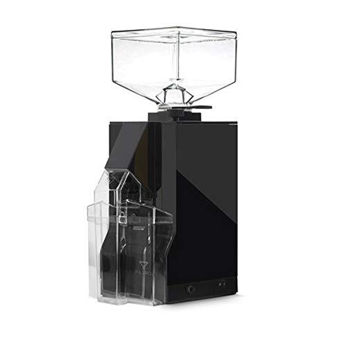 EUREKA CD-Mignon Filtro Black Noir matt Elektrische Kaffeemühle, Edelstahl, 1 Liter, Schwarz