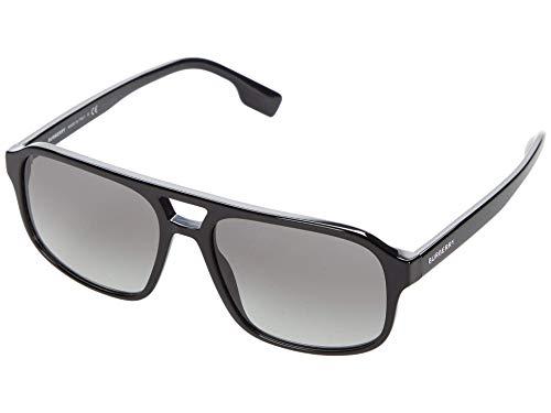 BURBERRY Gafas de sol BE4320 FRANCIS 300111 Gafas de sol hombre color Negro gris lente 58 mm