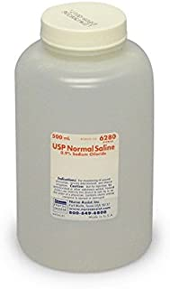 Sterile Saline for Wound & Irrigation | 500ml Bottle