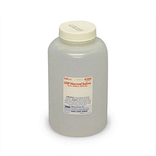 Sterile Saline for Wound & Irrigation   500ml Bottle