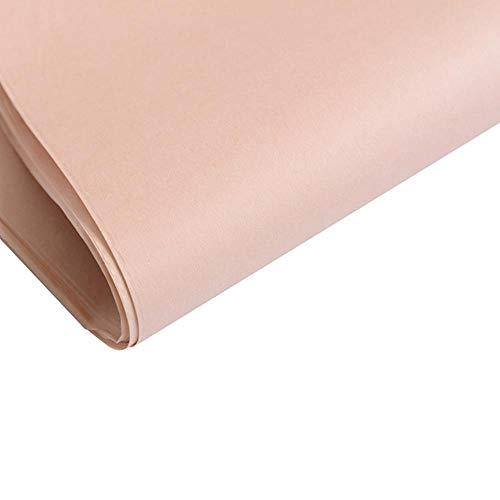 40 stks tissuepapier 75 * 52 cm ambachtelijke papier bloemen inpakpapier gift verpakking papier woondecoratie feestelijke party supply, licht roze