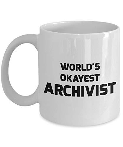 NA Taza de archivero - El archivero más aceptable del Mundo
