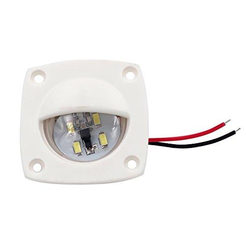 Gazechimp Lumière de Courtoisie LED Éclairage Ampoule Intérieur Pr Bateau Marine Caravane RV - Blanc