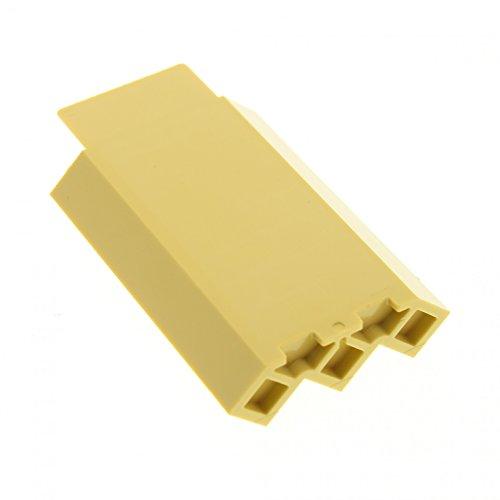Preisvergleich Produktbild 1x LEGO 87421 Paneel Ecke / Beige