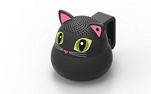 G.O.A.T. Pet Products Bluetooth Pet Speaker - Black Cat - Shark Tank Winner 2018!