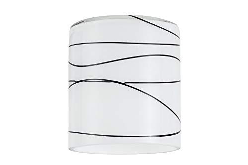 Paulmann Lampenschirm, Glas, Weiß