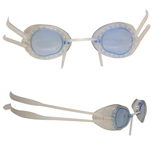 Swimxwin SiLFLAKE - Gafas suecas revolucionarias completamente de silicona suave apta para natación, piscina, entrenamiento profesional (azul)