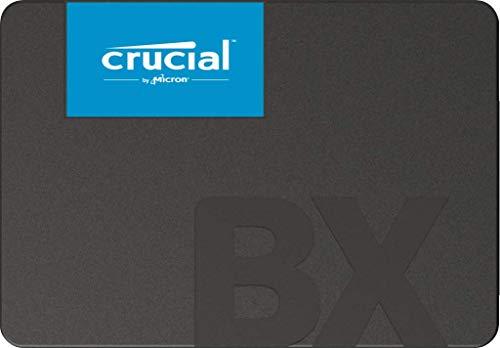 Crucial BX500 2 TB CT2000BX500SSD1(Z) Unidad interna de estado sólido, hasta 540 MB/s (3D NAND, SATA, 2.5 Pulgadas)