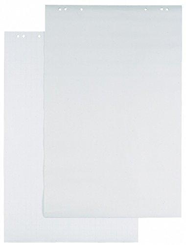 Durable 866202 Flipchart-Block, 1 Packung à 5 Stück weiß