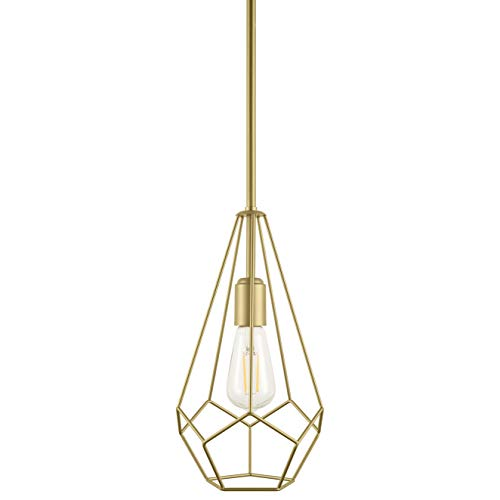 Aliria Pendant Light | Brass Pendant Lighting for Kitchen...