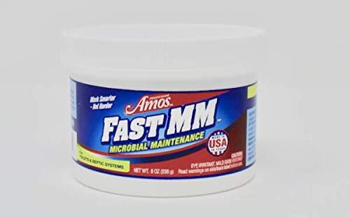 Professor Amos' Fast MM (Microbial Maintenance) Drain & Septic Treatment, Toilet, Garbage Disposal, Dishwasher, Washing Machine,...