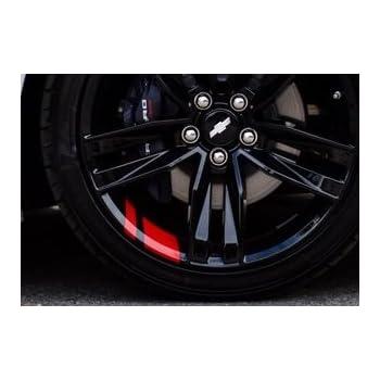 """REDLINE Wheel Decals Hash Stripe Stickers Fits 18/"""" or 20/"""" Wheels"""