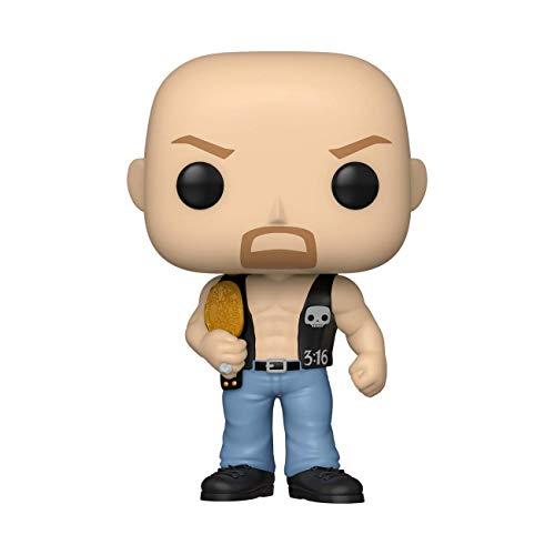 Funko 49263 POP WWE: SC Steve Austin w/Belt