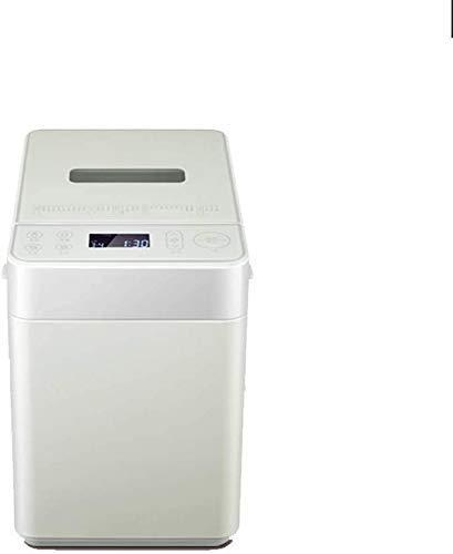 ZDW Horno de pan automática Máquina de hacer pan, pan Máquina automática compacta amasar la masa, rápida panificadora automática y dispensador de agua Tuerca, 28 Menú