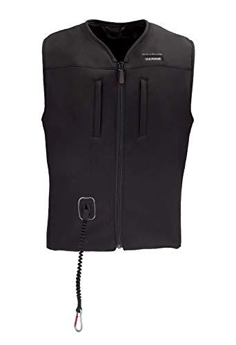 Bering Protektorenweste Motorrad Herren und Damen C-Protect Airbagweste schwarz XL-3XL, Herren, Sportler, Ganzjährig, Polyester