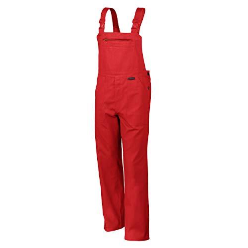 Salopette QUALITEX 270 en 5 couleurs, coton imperméable, taille 44–64, 90–110 50 Rot