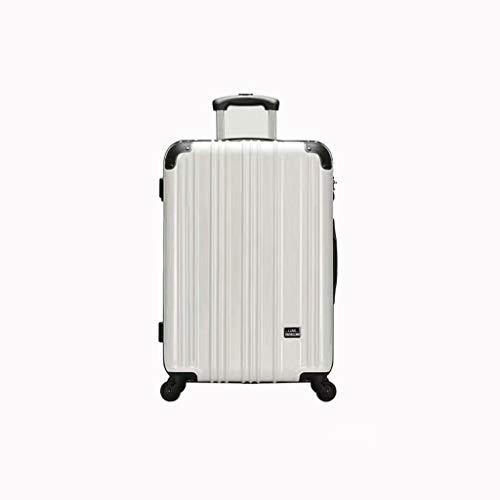 Lyl Reise-Koffer, weiblich, 50,8 cm, schlicht, modisch, für 24 Studenten, weiß (Weiß) - yh5436