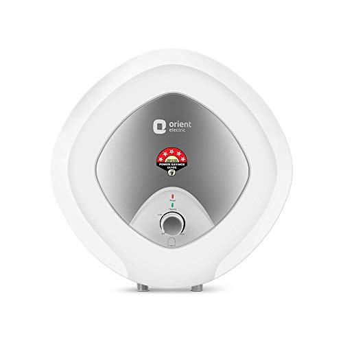 Orient Electric Enamour Plus 25-Litre Vertical Storage Water Heater BEE 5 Star (White)