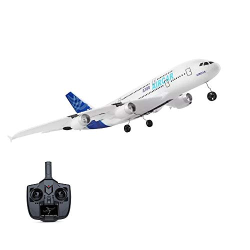 Landbow Remote Control Airplane – 2.4Ghz 3 Channels RC Plane Ready to Fly, 510mm Wingspan 6-Axis Gyro RC Airplane for Kids & Adults, Stability Flight RC Aircraft for Beginner