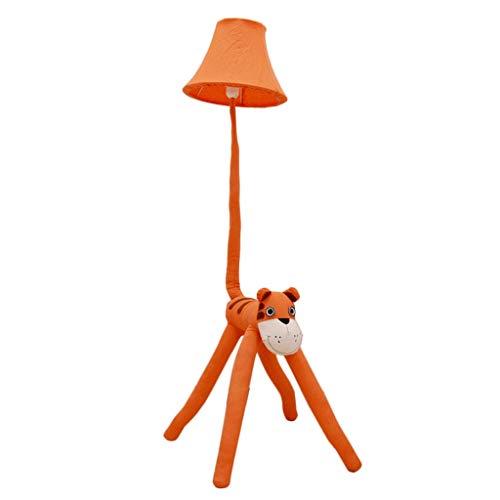 De les enfant tafellamp dier van de geschiedenis schattig creatief voor babykamer, tijger, oranje