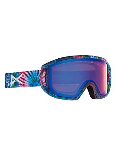 Anon Unisex Jugend Relapse Jr MFI Snowboard Brille, Tie Dye/Blue Amber