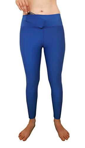 ZAH Sports L, Legins R Blue