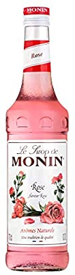 Monin ROSE Rosenblüten-Sirup 0,7 l