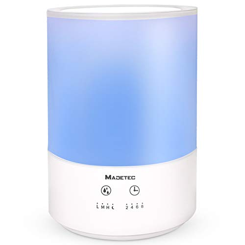 MADTEC 4L Ultra Sonic Cool Mist Humidifier  $30 at Amazon
