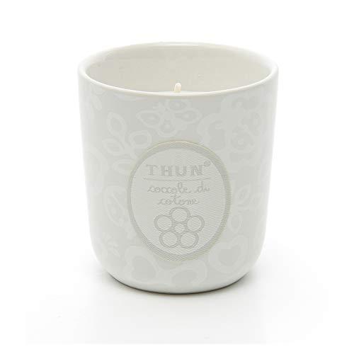 THUN ® - Candela in vasetto Coccole di Cotone