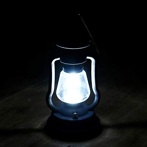 Solar Power Lantern Antique Light Lamp 7 LED for Garden Patio Umbrella Lamp Tree Pool Pavilion Lawn Porch Decor Camping Lantern Hurricane Lantern