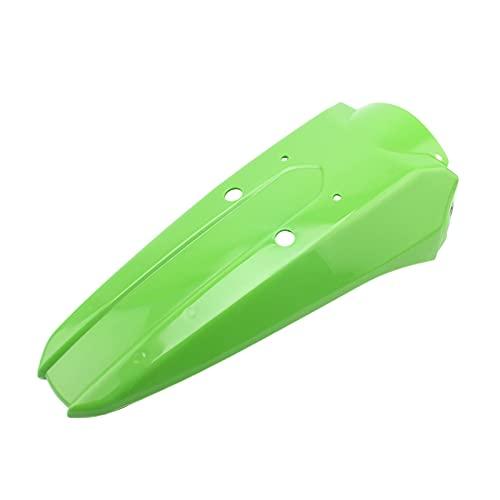 Yuchang LLPing Apto for Kawasaki KLX250 KLX300 KLX 250 300 Motorcross Trasero Fender Mudguard Cubierta Protección Hugger FUD Splash Guard Fairing 3 Colores HongZao (Color : Green)