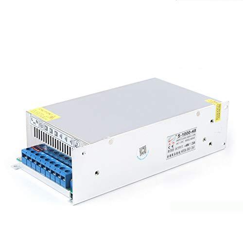 OUKANING 48V 20A 1000W Schalter Netzteil Treiberanzeige Schaltnetzteil Power Supply 220V