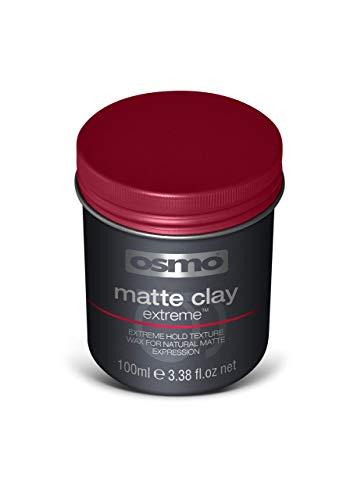 Osmo - Cera para el pelo mate Extreme de alta fijación para moldeado del cabello (arcilla mate, 100 ml)