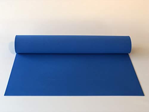 Schaumstoff,Schaumgummi, PE-Schaum, XXL-Platte 2000 x 1000 x 4 mm blau, Polyethylen